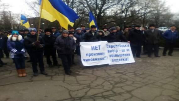 Жители Мариуполя вышли на Майдан-3