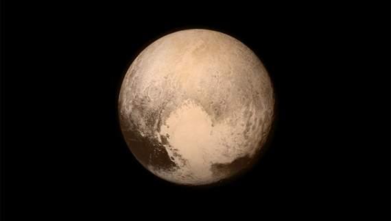 NASA опубликовало  фото дымки на Плутоне