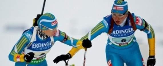 Українські біатлоністки найкращі в естафеті Кубка світу (ФОТО)