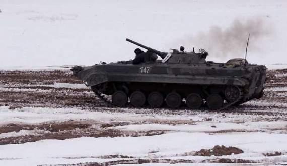 Бойовики обстріляли з БМП контрольний пункт «Мар'їнка»