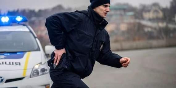 В Киеве полиции пришлось подстрелить человека с ружьем