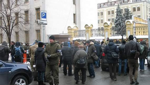 Бійці «Донбасу» вийшли на Майдан