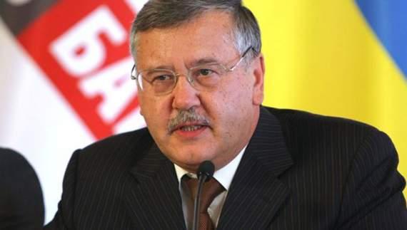 Яценюк будує Росію в Україні, – Гриценко