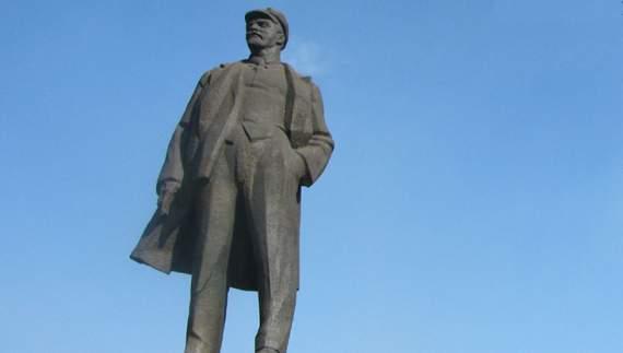 В Донецьку підірвали пам'ятник Леніну