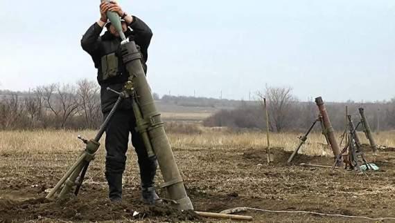 Бойовики обстіляли позиції АТО з заборонених мінометів