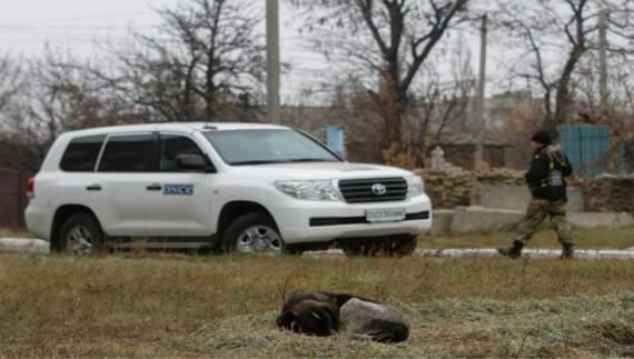Представники ОБСЄ стали мішенню для снайпера
