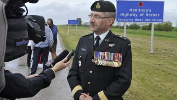 Уродженець України очолить армію в Канаді