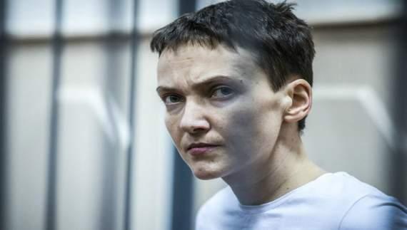 Їжу для Савченко вливатимуть через трубку у шлунок?
