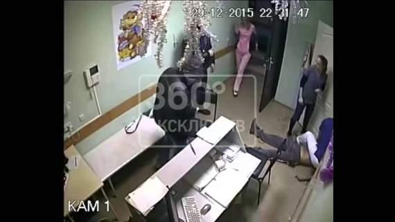 доктор ударил пациента