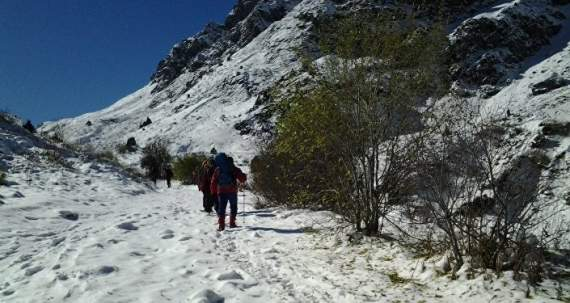У горах зникли три туриста