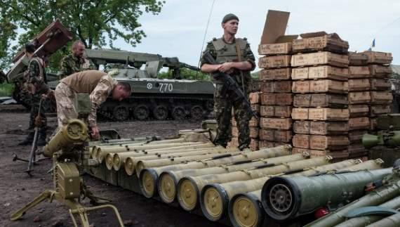 За сутки из России в оккупированные районы Донбасса поступило сотни тонн боеприпасов