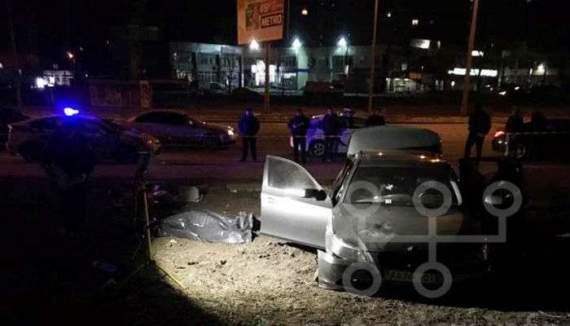 У Києві відбулась сутичка між поліцейським та водієм BMW