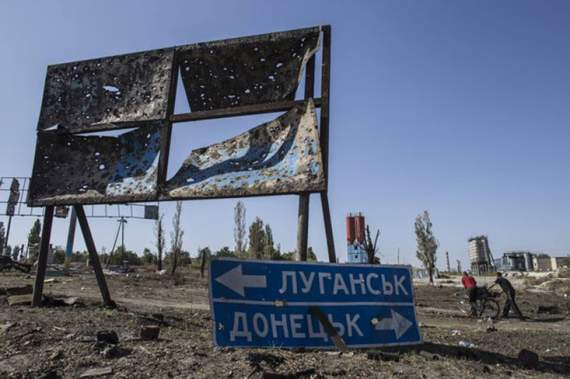 На Луганщині російські найманці влаштували показовий обстріл