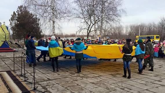 На Одещині відкрили «крилатий » пам'ятник Небесній сотні