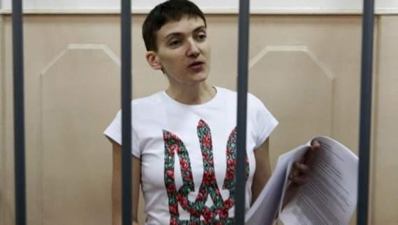 Савченко «на схемах» довела свою невиновність