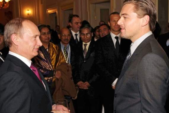 Роль Путіна таки дісталася для Ді Капріо: він і не проти