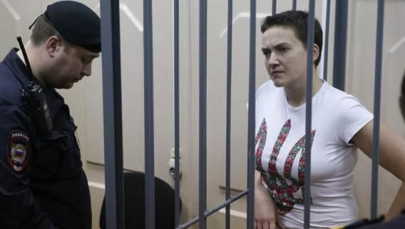 Савченко назвала винуватців смерті російських журналістів