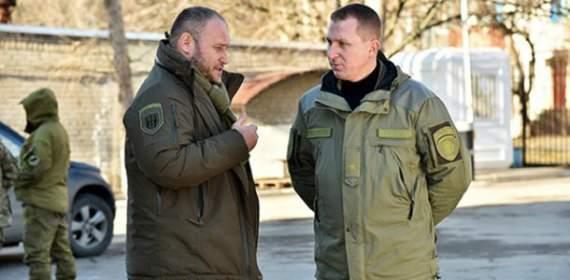 Ярош пообіцяв допомогти поліції Донеччини