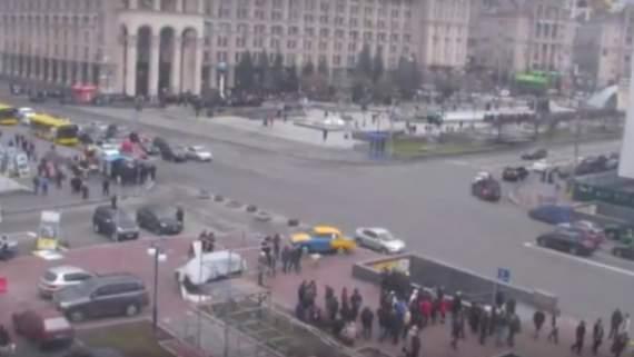 У Києві мітингувальники зібралися на проплачену акцію протесту