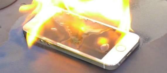 Британець згорів через iPhone