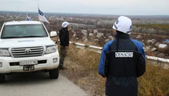 Боевики «ЛНР» перекрыли ОБСЕ путь к местным жителям