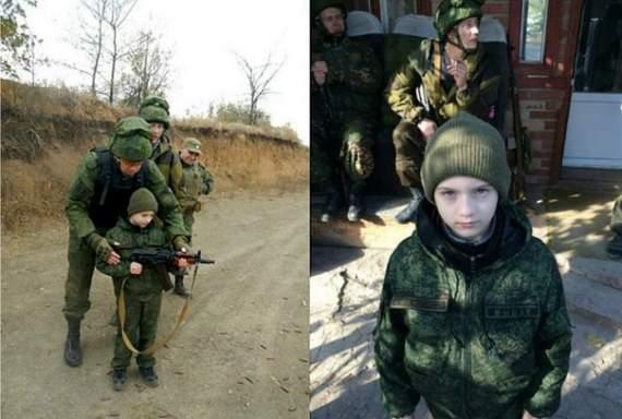 Семейная пара из Москвы привезла малолетнего сына на Донбасс «пострелять по укропам»