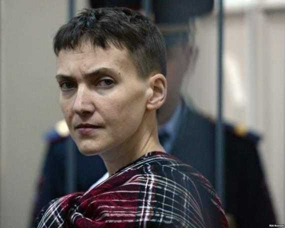 Савченко рассказала, что она Жанна д'Арк, Христос и Ной в одном флаконе