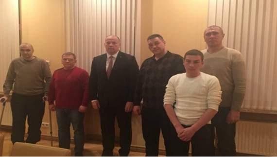 Украинские воины будут лечиться в Латвии