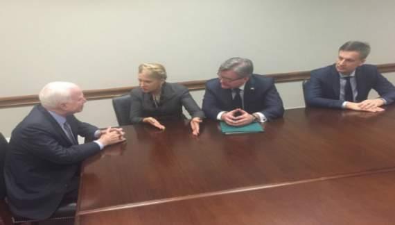 Юлія Тимошенко відвідує США без розголошення цілі візиту