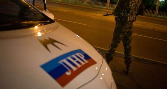 П'яна луганчанка надавала по морді «правоохоронцю ЛНР»