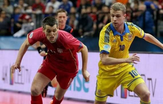 Збірна України з футзалу припинила боротьбу за чемпіонство