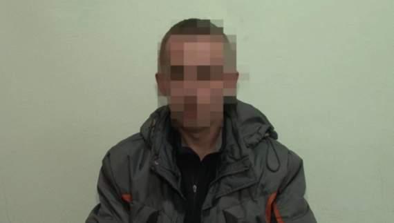 На Луганщині поліцейські затримали бойовика «Призрака» (ВІДЕО)