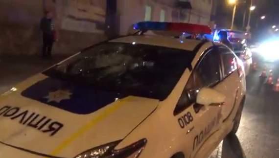 Ужгородський поліцейський збив пішохода