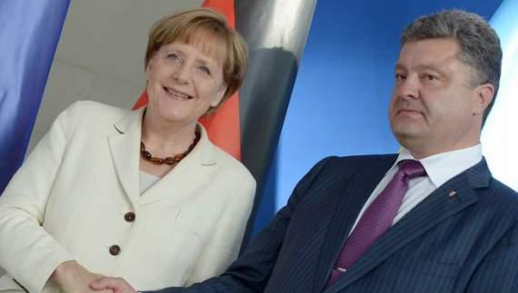 Порошенко та Меркель зустрінуться у «нормандському форматі»