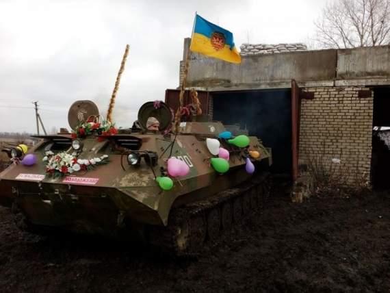Воєнне весілля: боєць із Тернопільщини взяв собі дружину із Донецька (ФОТО)