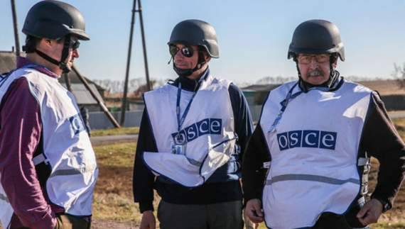 ОБСЕ передает видеосигналы в Донецк