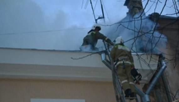 У центрі Одеси згорів житловий будинок