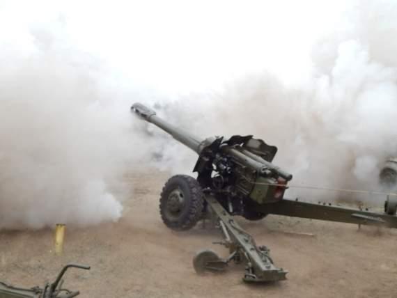 Терористи під Докучаєвськом замаскували протитанкові батареї