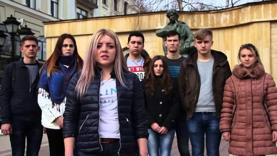 Российские студенты требуют судить Барака Обаму (видео)