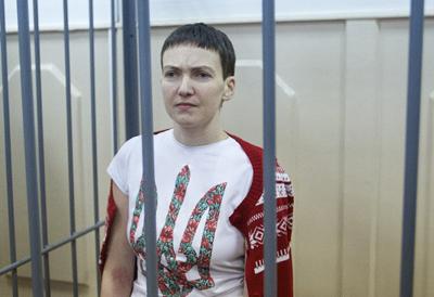Савченко буде голодувати до звільнення