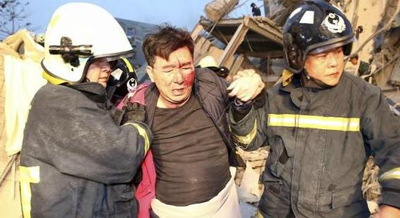 Кількість жертв землетрусу на Тайвані зросла