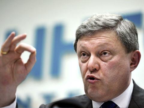 Явлинский выдвинут кандидатом в президенты России