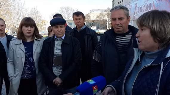 В Симферополе взбунтовались фермеры (ВИДЕО)
