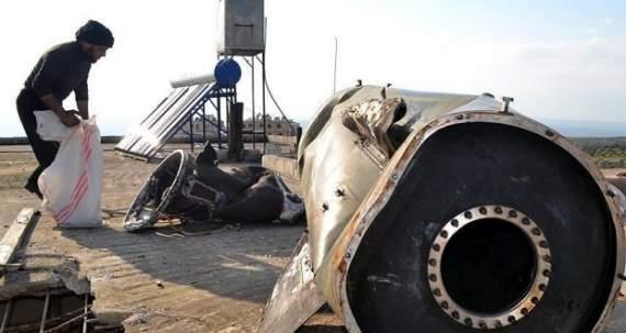 В Сирии оппозиция начала уничтожение неразорвавшихся баллистических ракет РФ