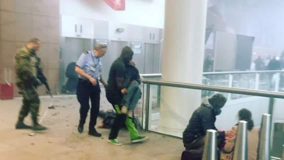 Брюссель: перші секунди після теракту