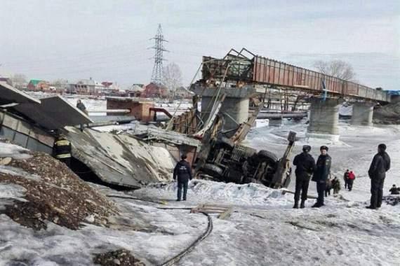 Рухнувший мост в Красноярском крае обошелся бюджету в 73 млн рублей