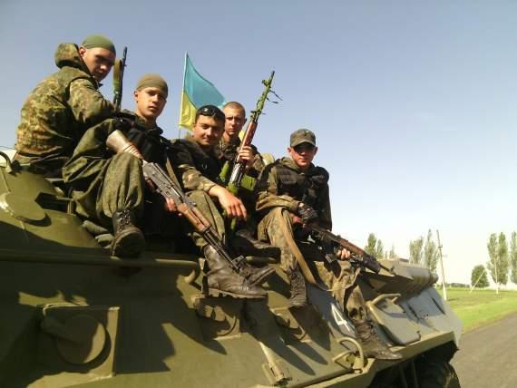 Марьинский район, Украина октябрь 14
