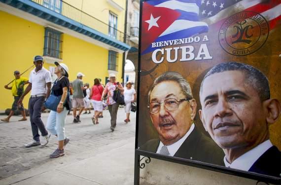 Обама начинает визит на Кубу, которой Россия предусмотрительно простила $32 миллиарда долларов