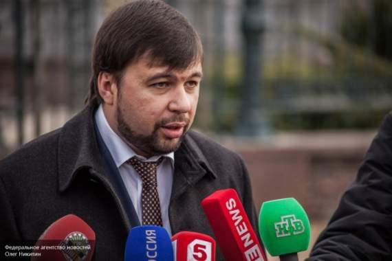 Пушилин заявил, что украинцы едут за паспортами ДНР