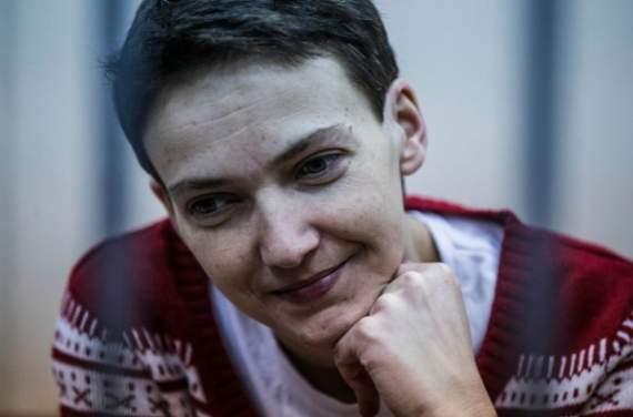 """Савченко попросила: """"не дайте мне скурвиться"""""""